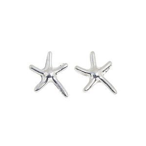 Small Starfish Post Earrings