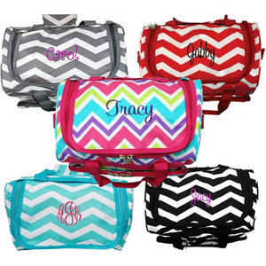 Personalized this Chevron Duffle Bag 13""