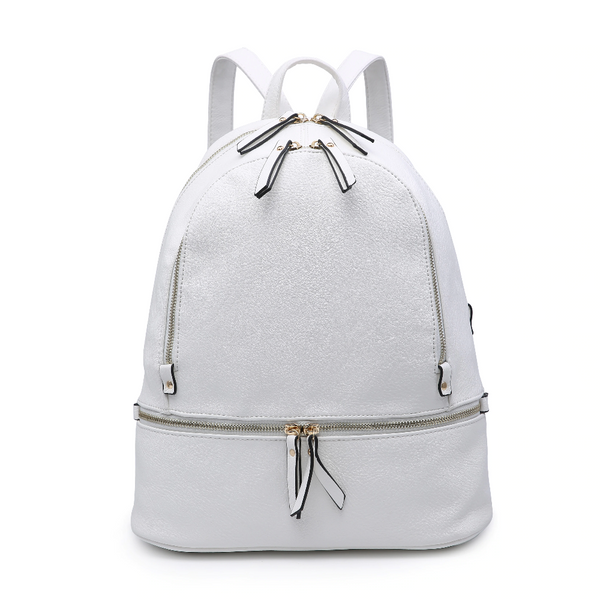 white backpack for ladies