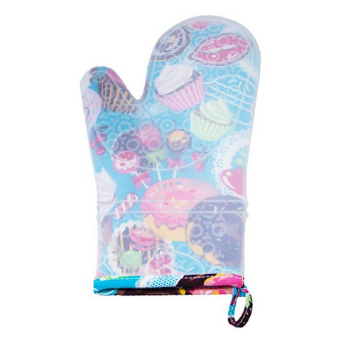 Yummy Cakes Silicone Oven Mitt