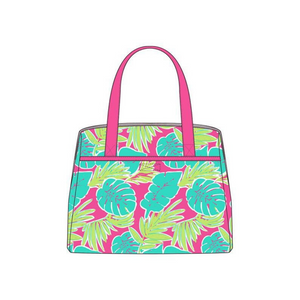 Personalized this Totally Tropics Lunch Tote