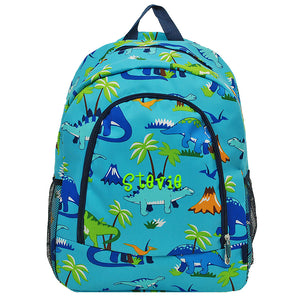 Aqua Dino Backpack