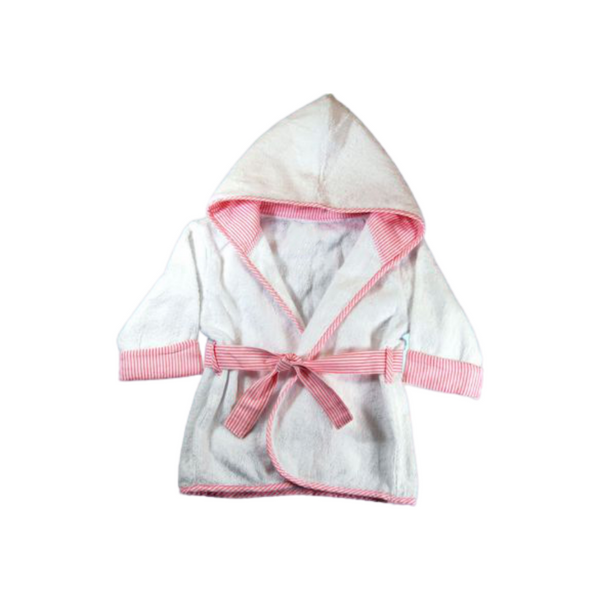 pink robe for infant
