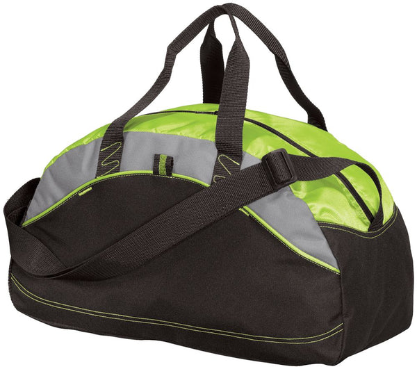 Lime Green Budget Minded Duffle Bag