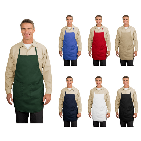 Personalized this Full Length Apron with Two Pockets