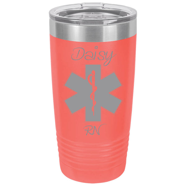 coral tumbler, coral cup