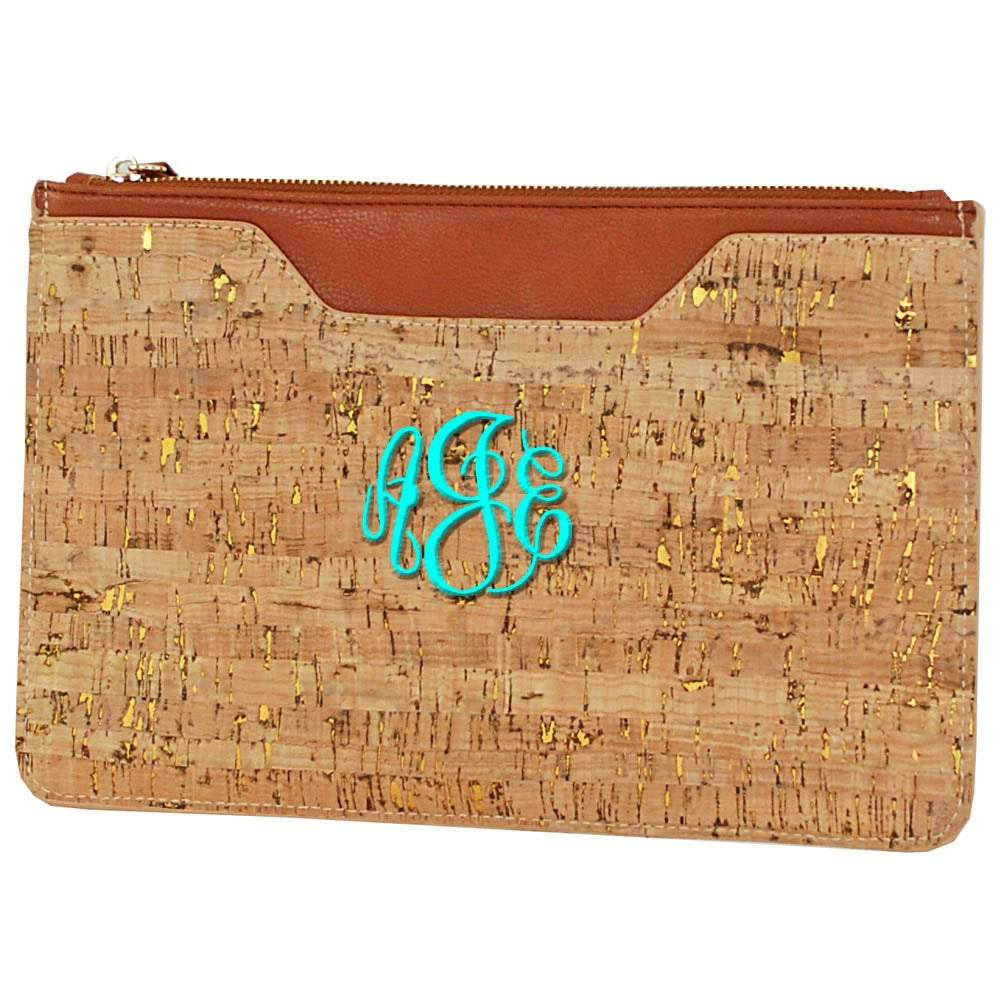 Personalized this Cork Clutch, lightweight and ultra smooth.