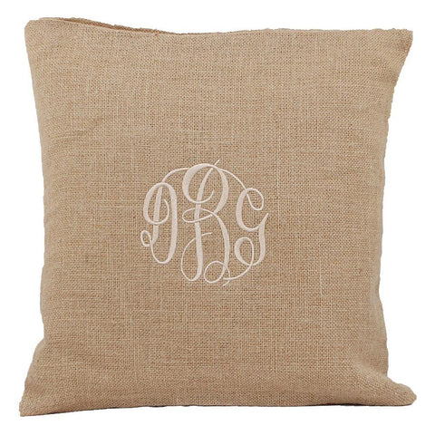Personalized this Natural Pillow Cover, can be used as a gift.
