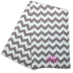 gray chevron scarf