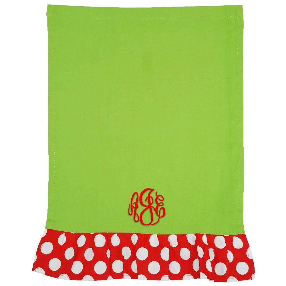 Christmas Towel that you can personalize, perfect for kitchen and bathroom use.