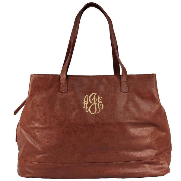 brown tote, office tote