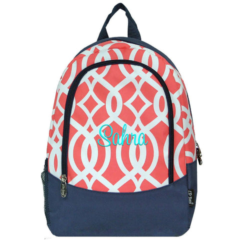 coral kids backpack