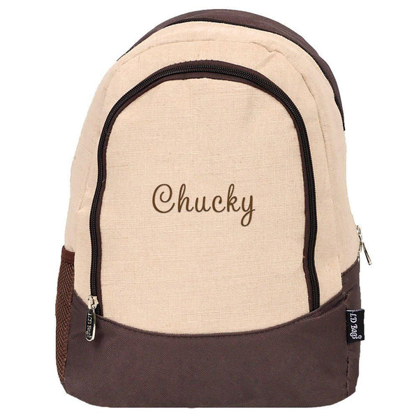Natural Juco Toddler Backpack