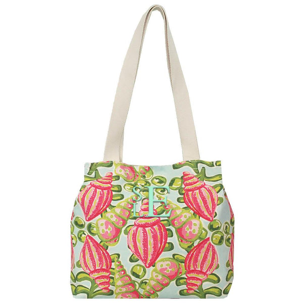 Summer Print Tote Bag