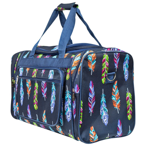 Feather Duffle Bag 20""