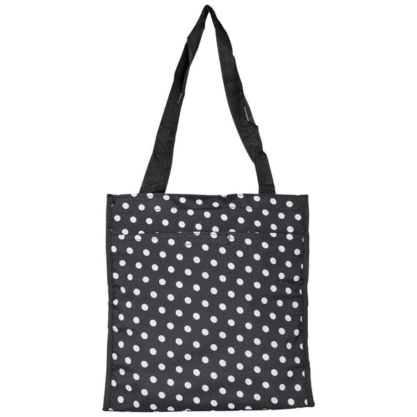 Dotted Tote with Pockets