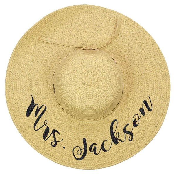 Wedding Floppy Hat