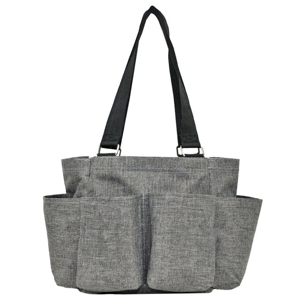 Caddy Stone Wash Gray Nurse Utility Bag