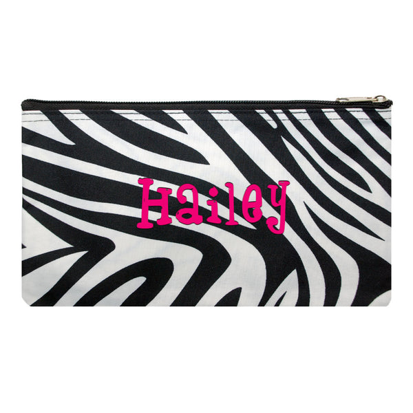 cosmetic bag zebra