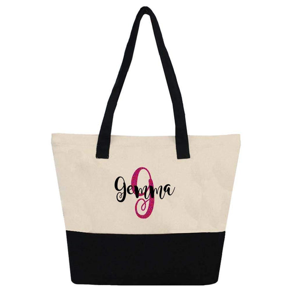 Personalized Boat Tote Bag