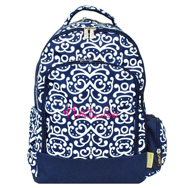 Personalized this Navy Blue Backpack