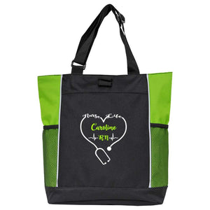 Two-Color Tote Nurse Bag