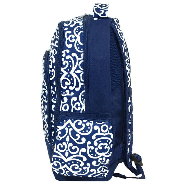 Personalized Navy School Backpack
