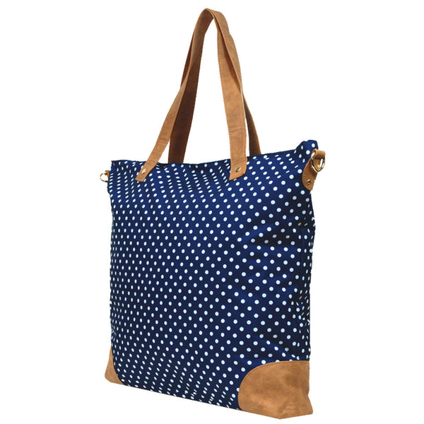 dotted ladies tote
