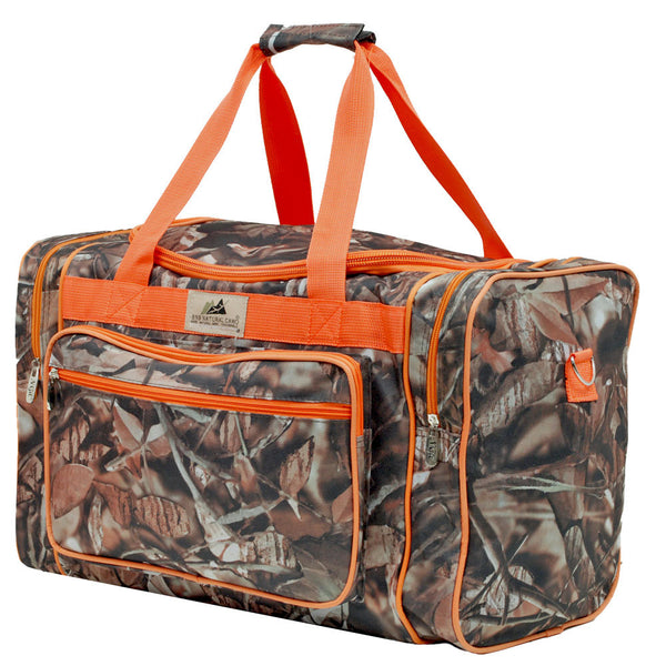 Men's Camouflage Duffle Bag 20""