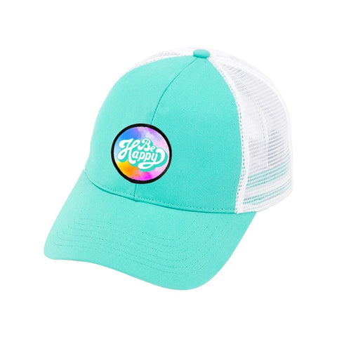 Mint Be Happy Trucker Hat