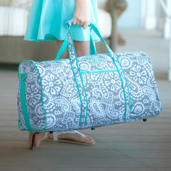 mint duffle bag