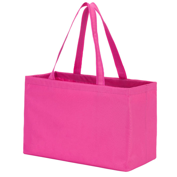 hot pink tote, large tote