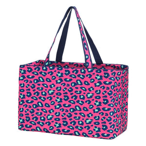 hot pink leopard, pink leopard tote, ultimate tote