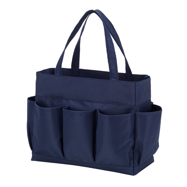 carry all tote, navy tote
