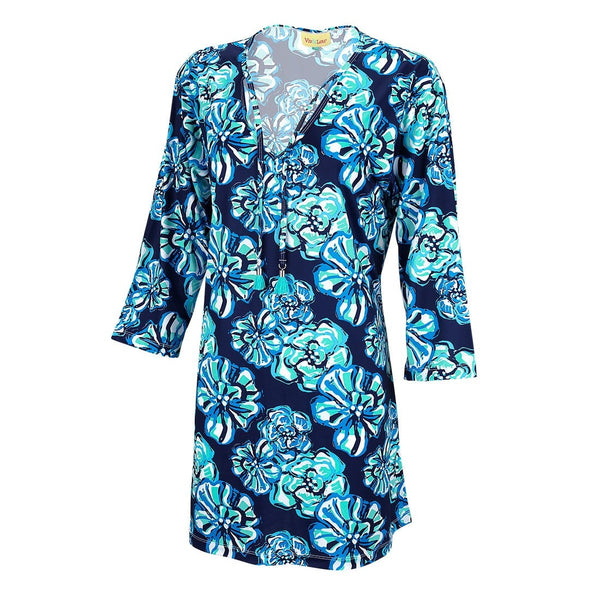 tunic cover up, maliblue, tunic for women