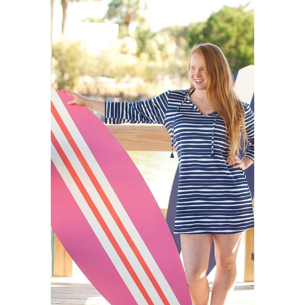 Tidelines Tunic Beach Cover Up