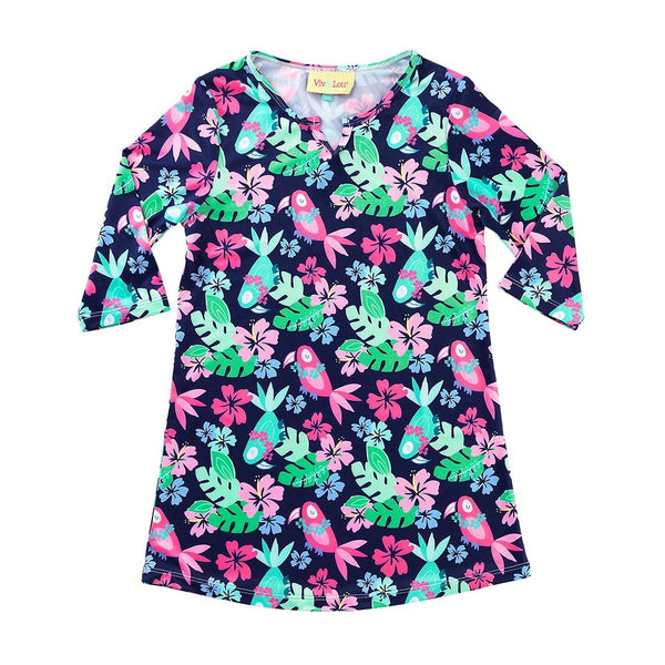 Tropi-Cool Girl's Tunic sizes from Small up to XXL