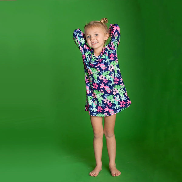 Feathered Toucan Girl's Tunic