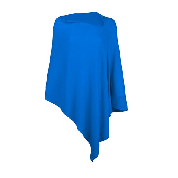 royal blue poncho