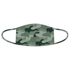 Camouflage Adult Face Mask