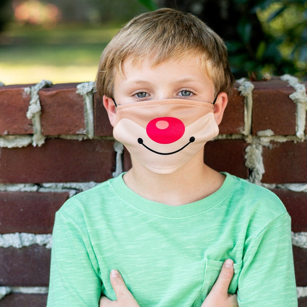 Rudolph kids mask