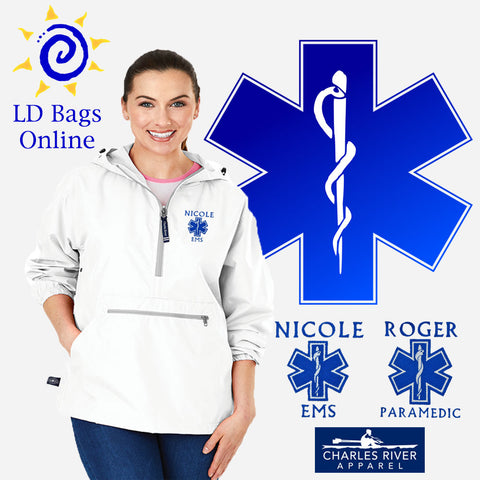 Adult White Pack-N-Go Jacket