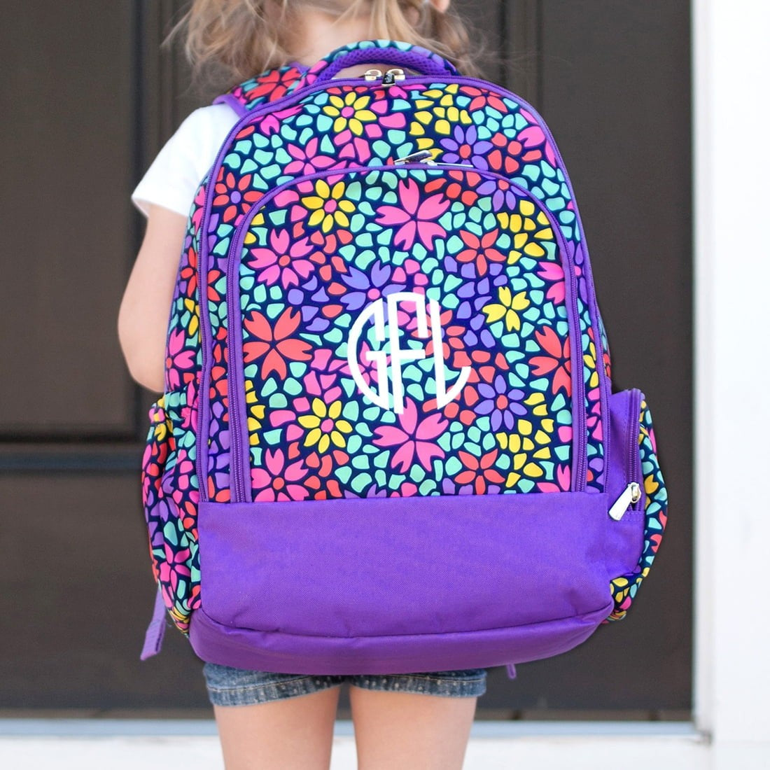 purple backpack kids