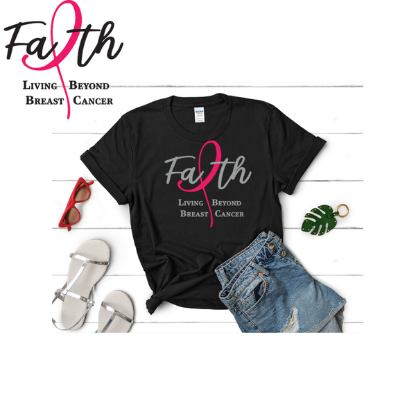 cancer tee shirt, faith based tee