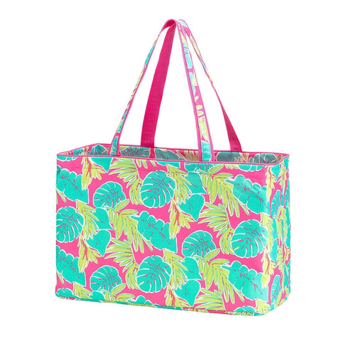 Personalized this Totally Tropics Ultimate Tote