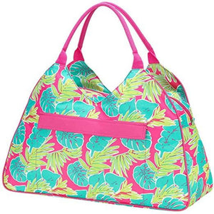 Personalized this Tipsy Tropics Large Beach Bag