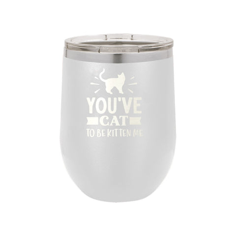 white cup, insulated tumbler, 12oz cup
