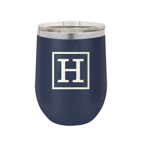 Classic Initial Insulated Tumbler 12oz