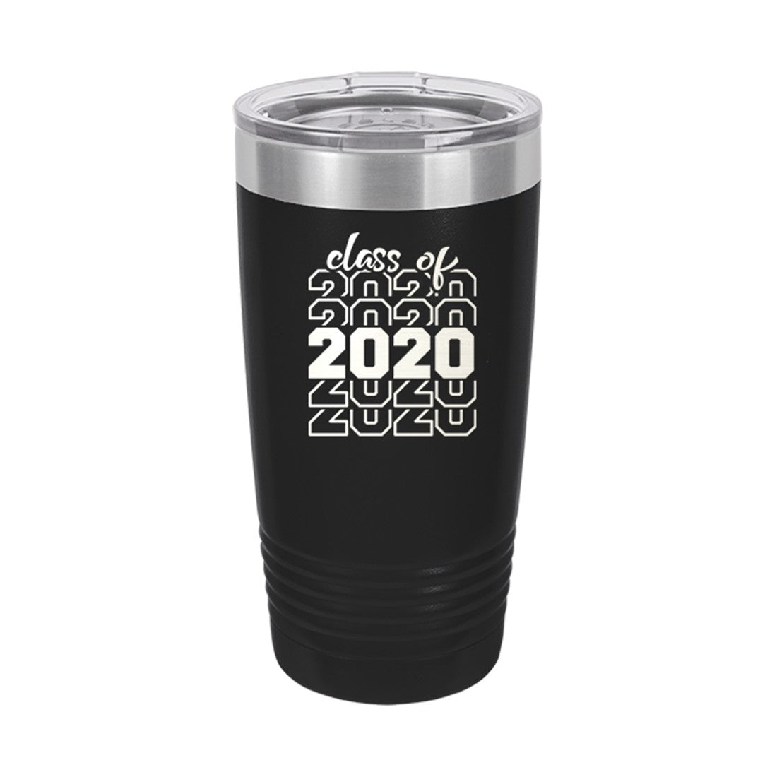 Black Class of 2020 Insulated Tumbler