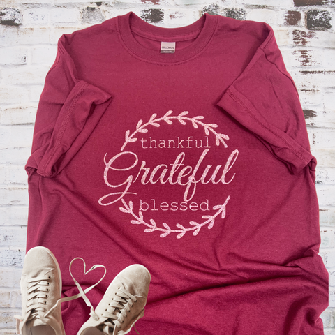 blessed tee, blessed shirt, grateful tee, thankful tee